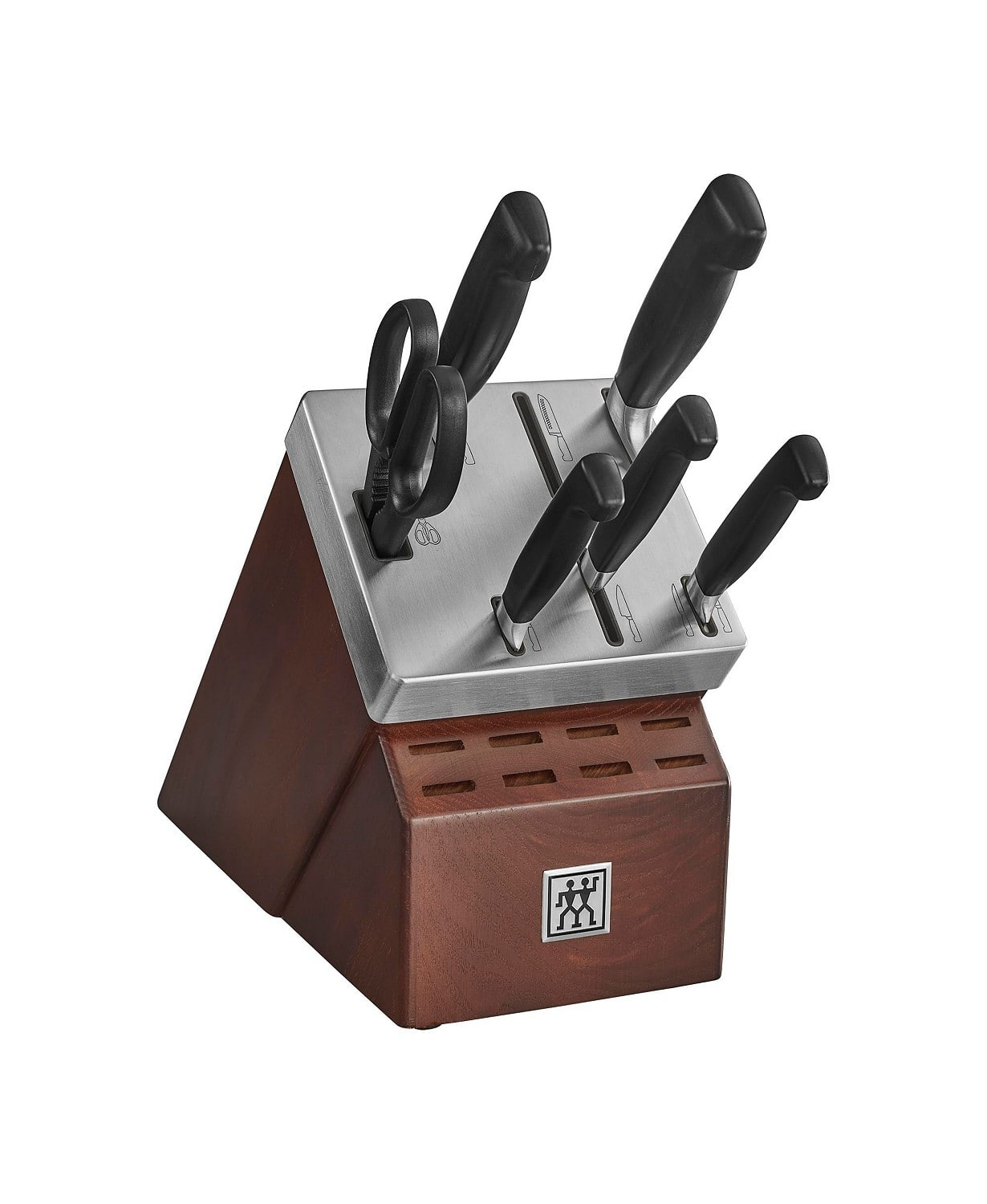Zwilling J.A. Henckels Four Star 7-pc. Self-Sharpening Cutlery Set $149.99+tax Free S&H (Macy's card required) - (2 man logo, made in Germany)