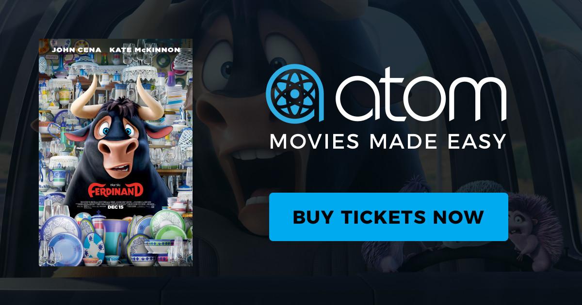Ferdinand (Movie Ticket): Buy One, Get One Free (BOGO)