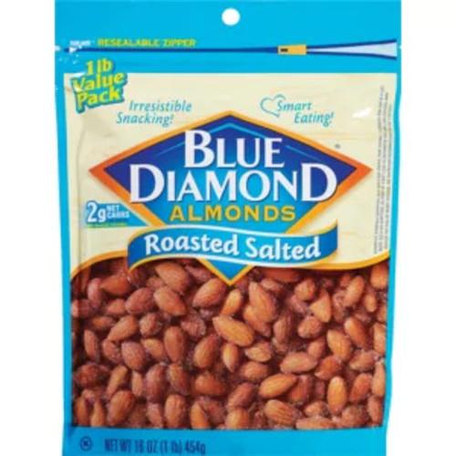 16oz Blue Diamond Almonds (Various Flavors) $5.99