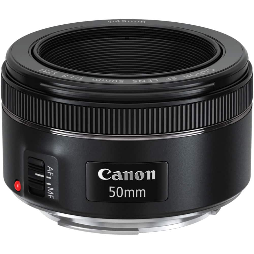 Live Again!! Canon 50MM F/1.8 STM Lens - $79