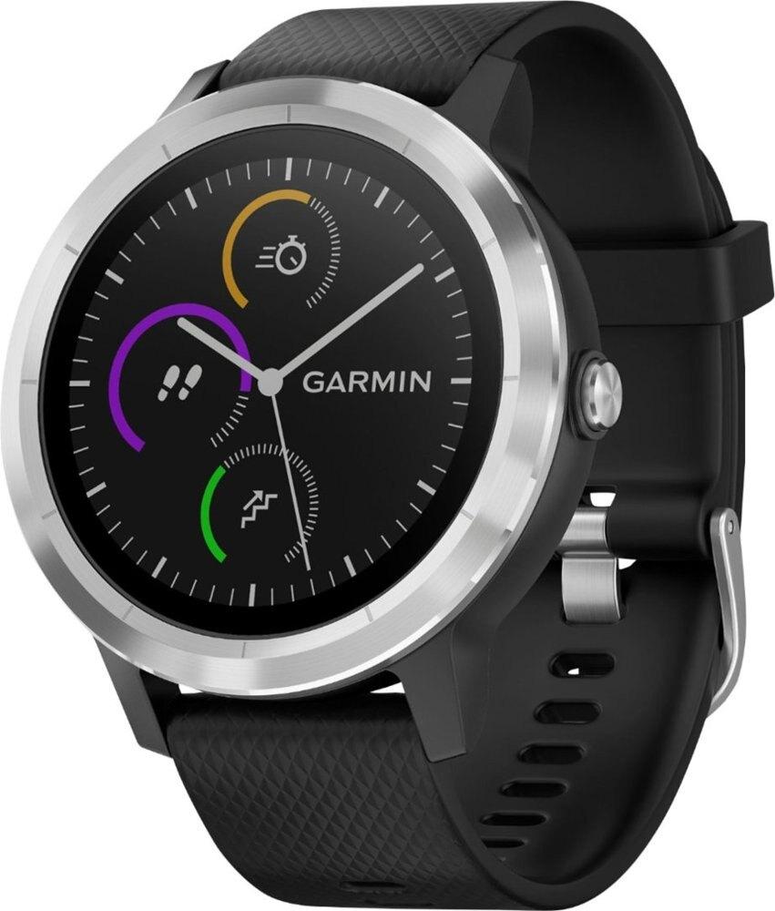 Garmin Vivoactive 3 GPS Smartwatch (Black w/ Slate) - $169.99