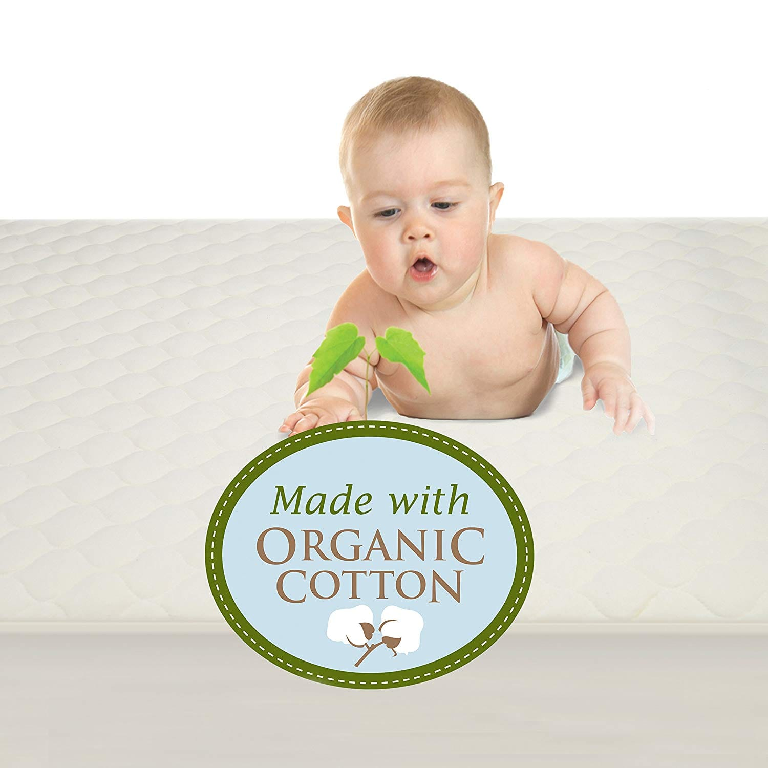 ccd88ddb2cdf4 American Baby Company Waterproof Crib and Toddler Mattress Cover ...