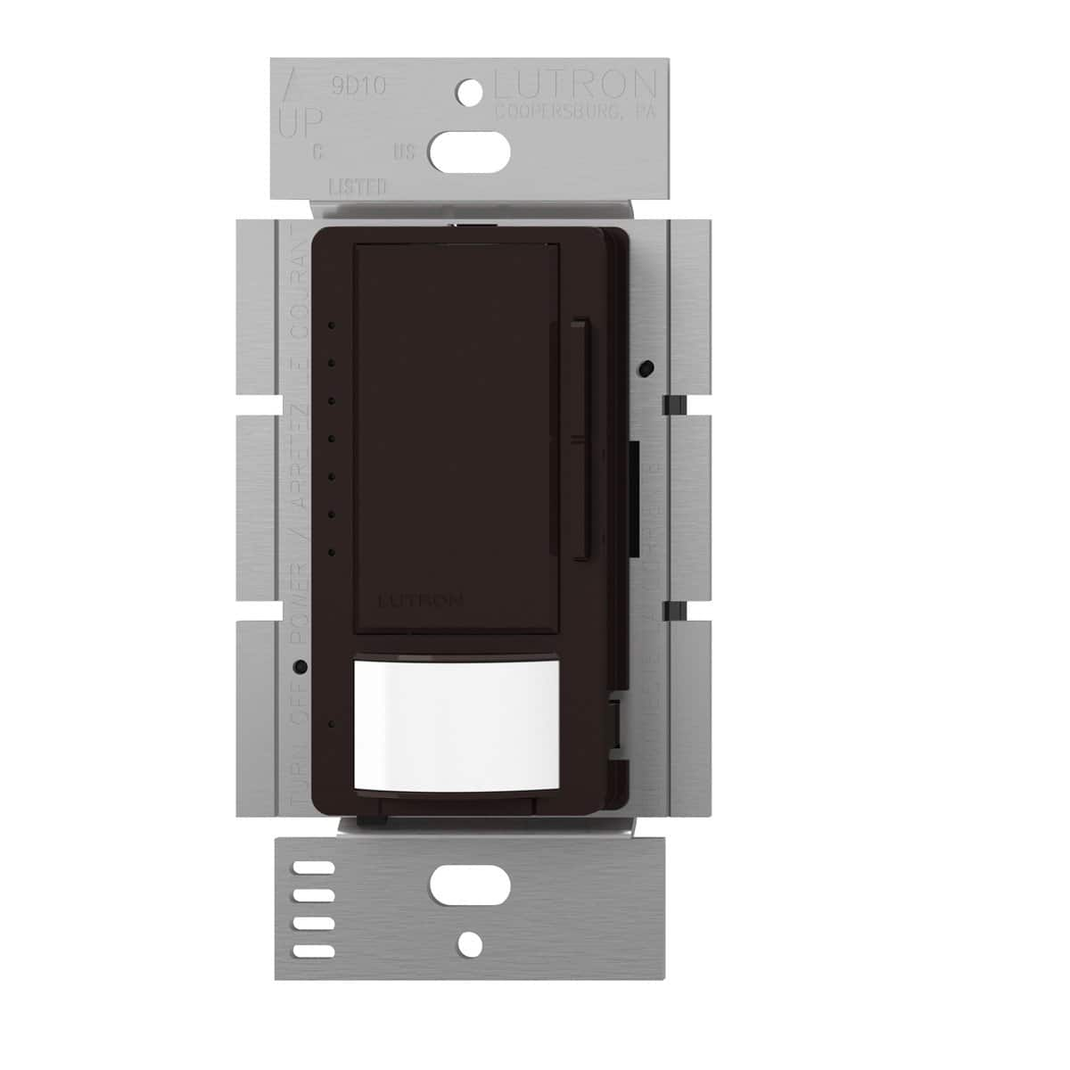 Lutron Maestro LED Dimmer switch with motion sensor, no neutral required, MSCL-OP153M-BR, Brown $12.8 @ Amazon
