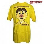 Officially Licensed Operation 'You Removed My What?' by Hasbro Tee-Shirt for $6.99 + free shipping