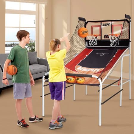 ESPN Premium 2-Player Basketball Game with Authentic Clear Backboard $49.00 + Free Shipping @ Walmart
