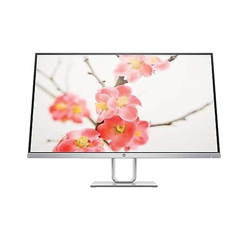 """HP® Pavilion 27q 27"""" Widescreen IPS LED Monitor, Natural Silver - Staples 129.99"""