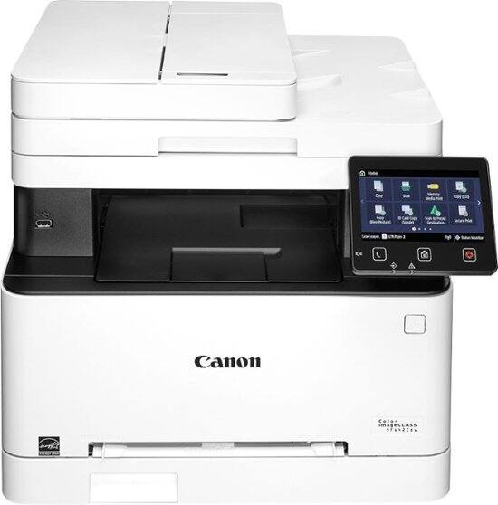 Canon - Refurbished imageCLASS MF642Cdw Wireless Color All-In-One Laser Printer - White