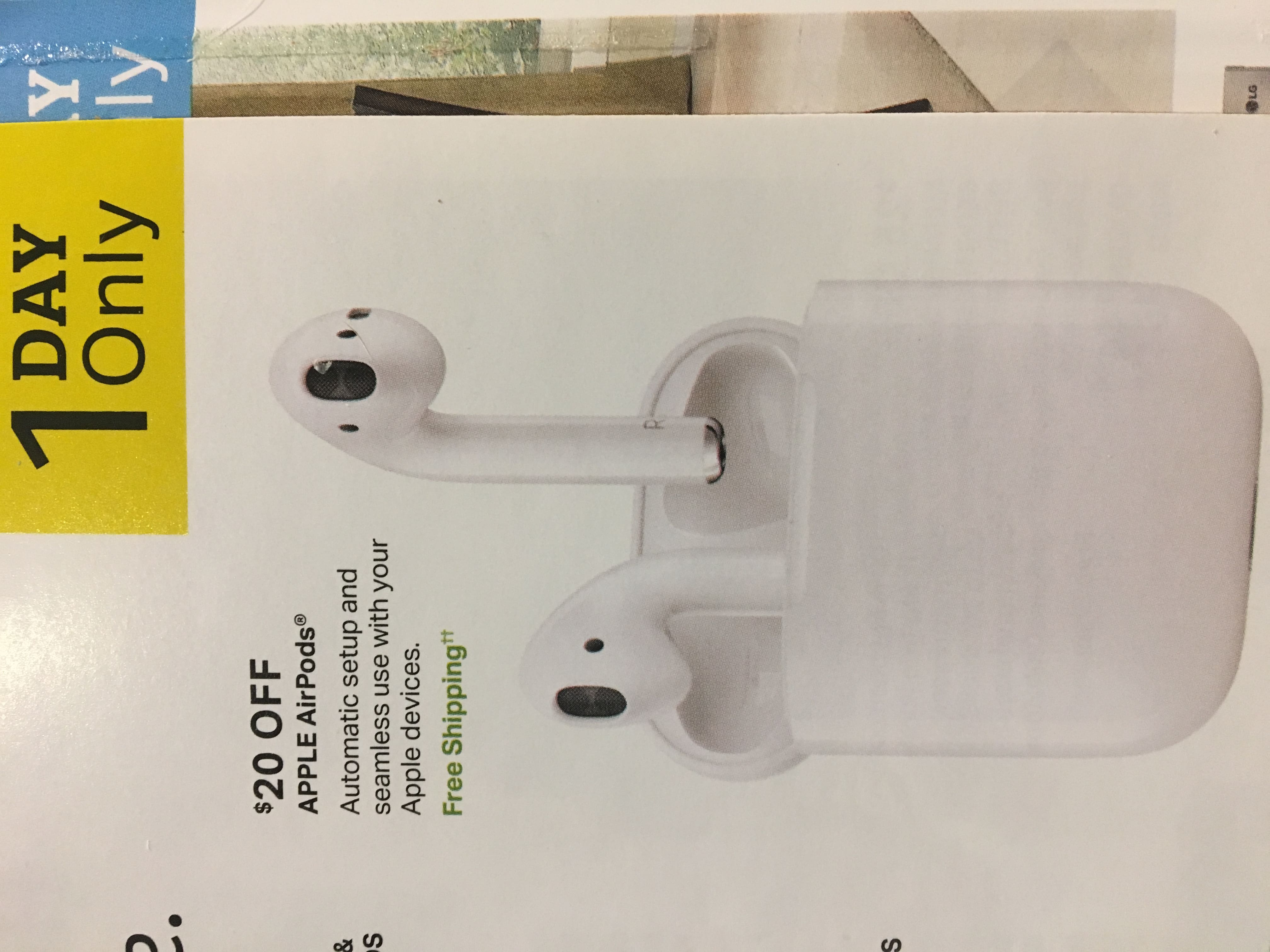 0d3f26dd62 Sams Club 5 12 Only  Apple AirPods  139