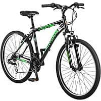 "Walmart Deal: 26"" Schwinn Sidewinder Men's Mountain Bike, Matte Black/Green - $129.40 + FS"
