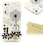 Amazon 3D Handmade Bling Crystal Flowers Case Cover for iPhone 5&5s only 4,99 $