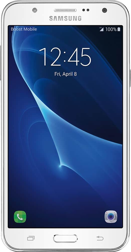 Boost Mobile - Samsung Galaxy J7 (2016) 4G LTE with 16GB Memory Prepaid Cell Phone $149.99