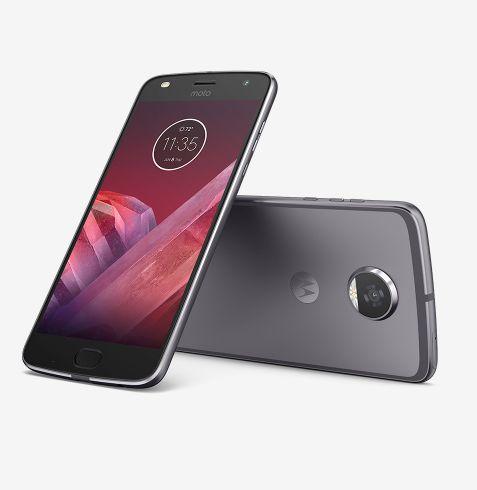 64GB Motorola Moto Z2 Play Unlocked Smartphone (Gray or Gold)  $350 + Free Shipping
