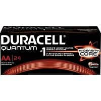 Staples Deal: Duracell Battery Quantum Alkaline AA Batteries (24-pk.) - $9.99 FS w/ Rewards @ Staples