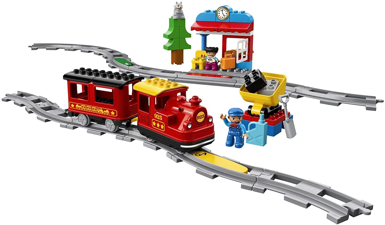 LEGO DUPLO Steam Train 10874 10% off on Amazon, track extensions too $54