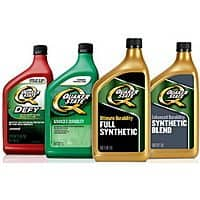 Advance Auto Parts Deal: Quaker State 5-Quart Synthetic Oil + Filter $9.99-$11.99 After Rebate Expires10/28/15