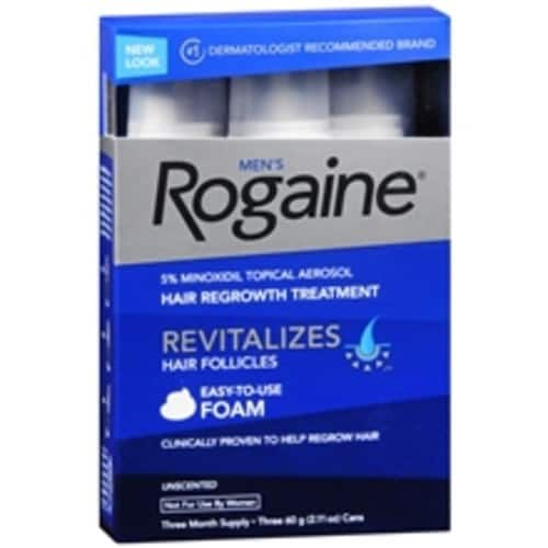 3x 3-pack Men's Rogaine - $56.78 (before tax) - AR/AC/VISA-Checkout (new accounts only) @ Walgreens.com through 8/26