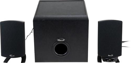 Klipsch - ProMedia 2.1 Bluetooth Speaker System (3-Piece) - Black @ Best Buy - $109.99 plus $10 GC