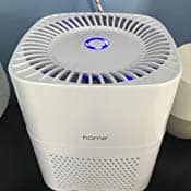 hOmeLabs 3 in 1 Ionic Air Purifier with HEPA Filter + Filter $20.09 @Amazon