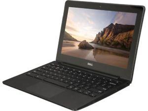 """11.6"""" Dell Chromebook (Refurb): Intel 2955U, 4GB RAM, 16GB SSD $76.49 - TODAY ONLY"""