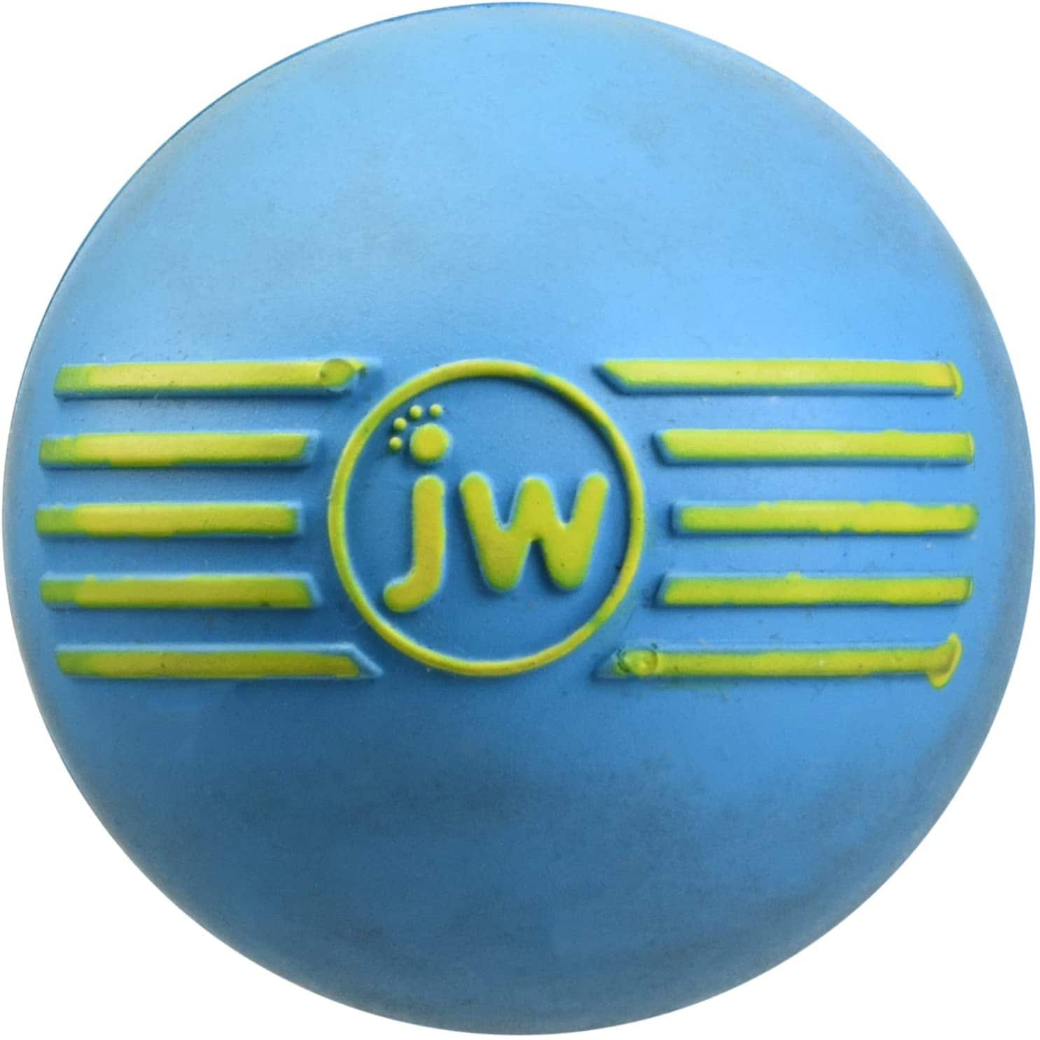 JW Pet Company iSqueak Ball Rubber Dog Toy, Colors Vary $2.67