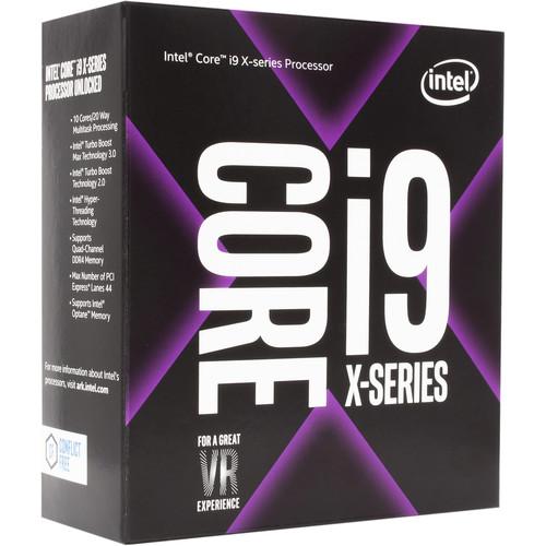 Intel Core i9-7900X X-Series 3.3 GHz Ten-Core LGA 2066 Processor $999.00 B&H Photo