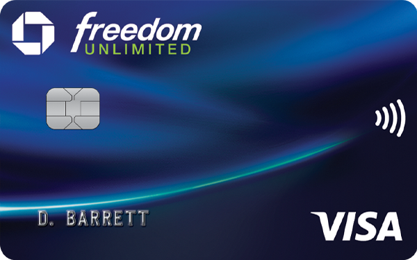 Chase Freedom Unlimited® Credit Card: Earn 3% Cash Back on All Purchases (Up to $600 Cash Back)