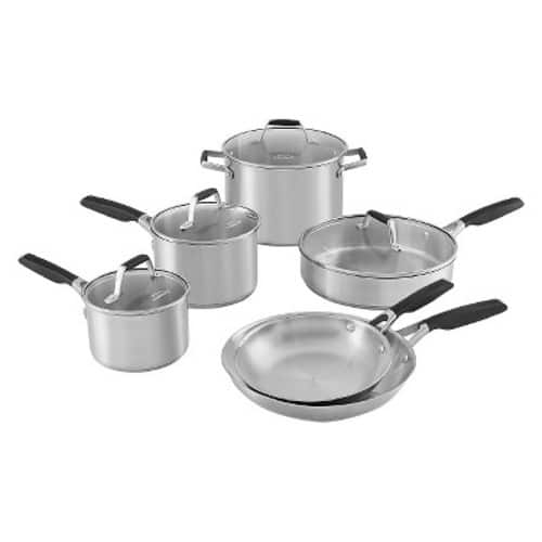 Walmart Clearance: Select by Calphalon Stainless Steel Pan Set - $40 (YMMV)