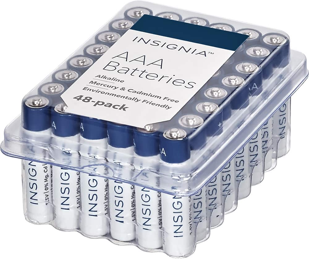 Insignia™ - AAA Batteries (48-Pack) $8.99