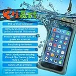 3iArt Waterproof Case for Apple iPhone 6 Plus 5S 5C 5 and other Android Smartphone - $7 FS @ Amazon