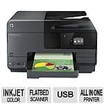 HP Officejet Pro 8610 e-All-in-One Color Inkjet Printer - Print, Copy, Scan, Fax, Web, Wi-Fi for $79.99 on TigerDirect.com