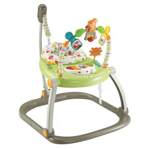 Fisher-Price SpaceSaver Jumperoo in Woodland Friends $31.79