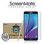 iloome Note 5 tempered glass screen protector $14.99 ac + fs exp 8/23