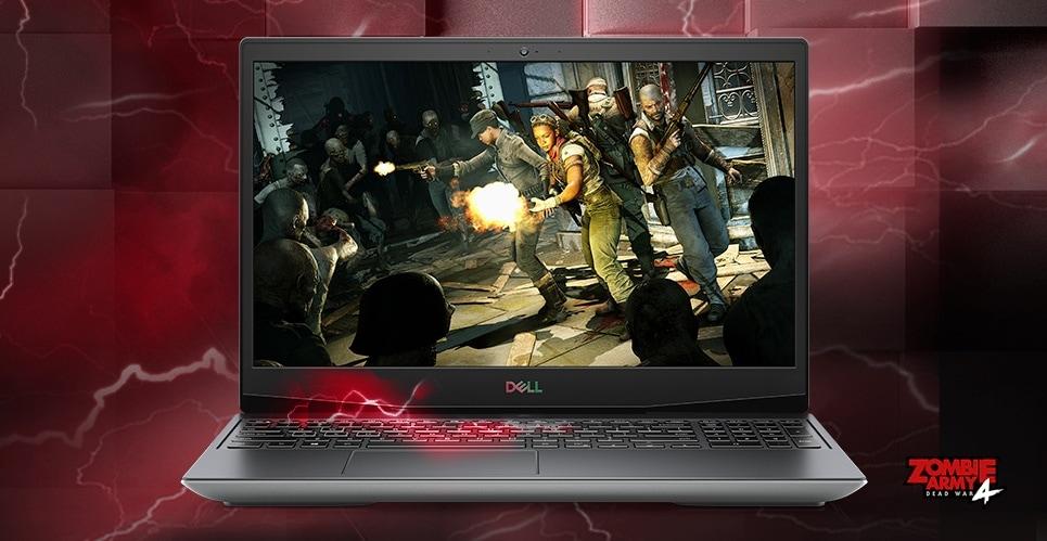 Dell G5 SE: 15.6'' FHD 120Hz IPS, Ryzen 5 4600H, 8GB DDR4, 256GB PCIe SSD, RX5600M, Win10H