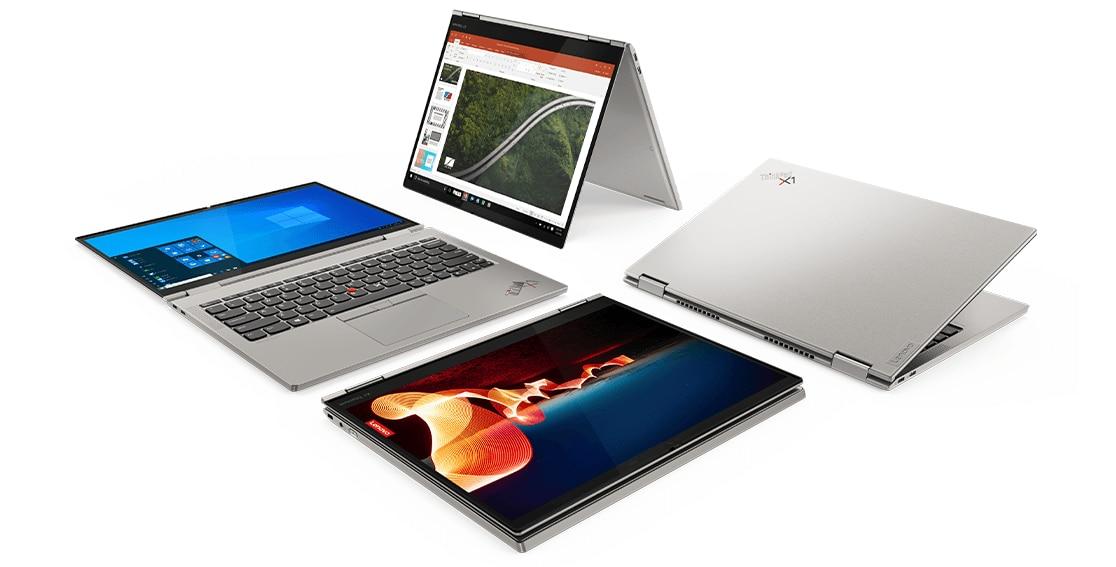 ThinkPad X1 Titanium Yoga 2-in-1: 13.5'' QHD 3:2 Touch IPS, i5-1130G7, 16GB LPDDR4X, 512GB PCIe SSD, Thunderbolt 4, Active Pen, Win10 Pro @ $1300.28 (1160G7 @ $1351.97)
