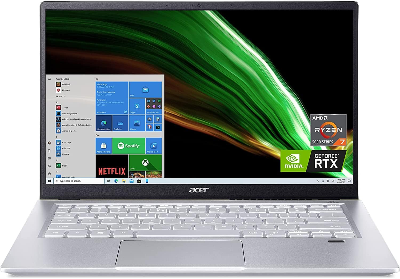 All new Acer Swift X SFX14-41G-R1S6: 14'' FHD IPS, Ryzen 7 5800U, 16GB LPDDR4X, RTX 3050 Ti MQ,  Win10H @ $1069.99 + F/S (Pre-Order)