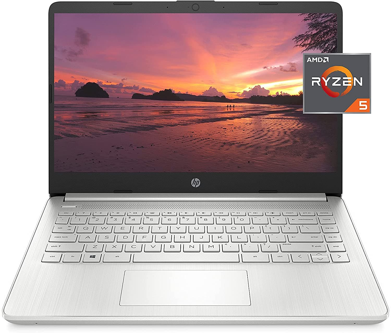 HP 14-fq1021nr Laptop: 14'' FHD IPS, Ryzen 5 5500U, 8GB DDR4, 256GB PCIe SSD, Win10H @ $399 + F/S