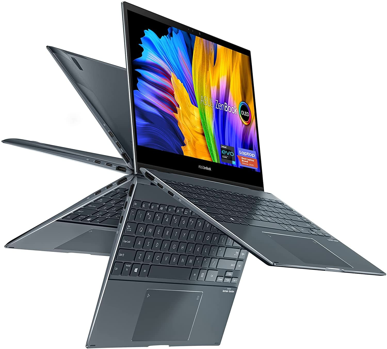 Asus Zenbook Flip 13 UX363EA: 13.3'' FHD OLED Touch, i7-1165G7, 16GB LPDDR4X, 1TB PCIe SSD, Thunderbolt 4, Win10H