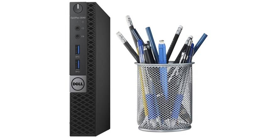 Refurb Dell OptiPlex 3040 Micro Desktop i3-6100T, 8GB Ram, 128GB SSD, WiFi AC, Win10 Pro @ $370+ $5 Shipping