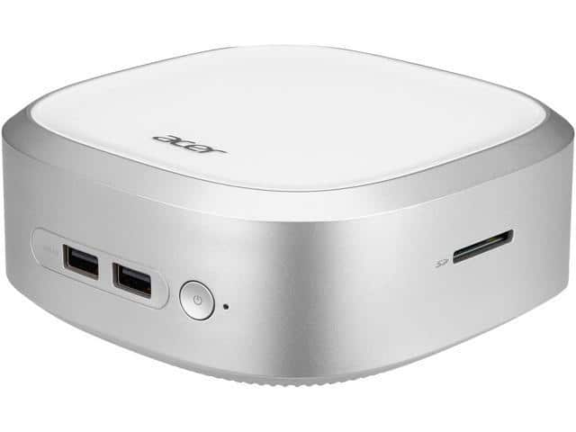 Acer Revo Base RN66-UR11 Mini PC i3-5005U, 4GB Ram, 500GB HDD, WiFi AC, Keyboard & Mouse, No OS @ $210 with F/S at eBay