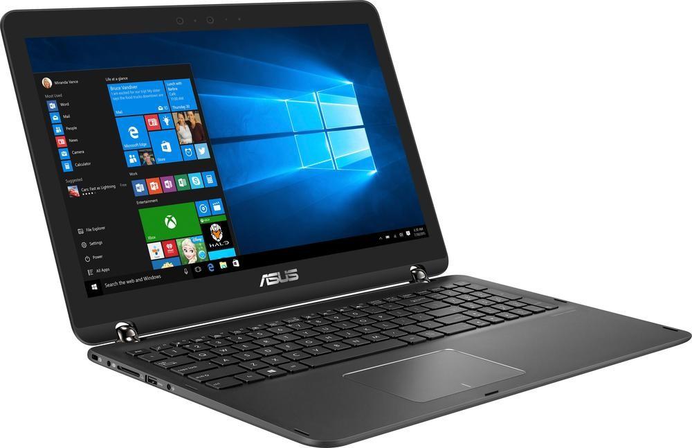 "Asus Q534UX-BI7T22 2-in-1: 15.6"" 4K IPS Touch, i7-7500U, 16GB DDR4, GTX 950M 2GB, 512GB SSD, 2TB HDD, WiFi AC, Thunderbolt 3 Win10 @ $1099.99 with F/S"