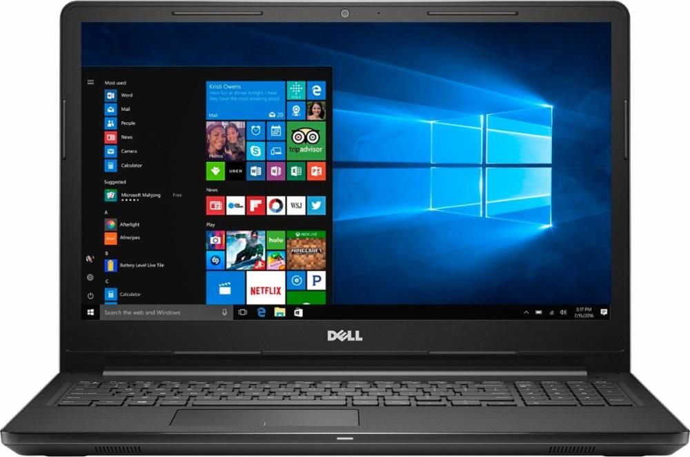 Dell Inspiron 3567 15.6'' 768P, i3-7100U, 6GB DDR4, 1TB HDD, DVD-RW, Win10H @ $290 with F/S