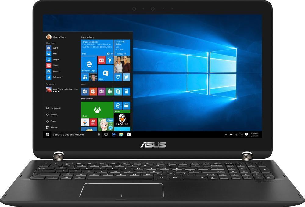 New Open Box Asus Q534UX-BHI7T19 2-in-1: 15.6'' 4K IPS Touch, i7-7500U, 16GB DDR4, 512GB SSD, 2TB HDD, GTX 950M, Thunderbolt 3, Win10 @ $840 with F/S