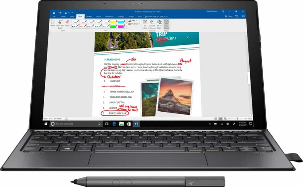 New HP Spectre X2: 12.3'' 3200x2000 IPS Touch, i7-7560U, Iris Plus HD 640, 8GB  Ram, 360GB PCIe SSD, Detachable Keyboard & Active Pen @ $1175 /w Student Discount