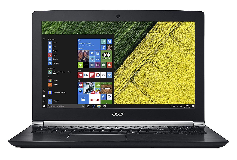 Acer Aspire V15 Nitro Gaming Laptop: 15.6'' FHD IPS, i7-7700HQ, 16GB DDR4, GTX 1060 6GB, 256GB SSD, 1TB HDD, Thunderbolt 3, FingerPrint Reader, Win10H @ $1150 with F/S