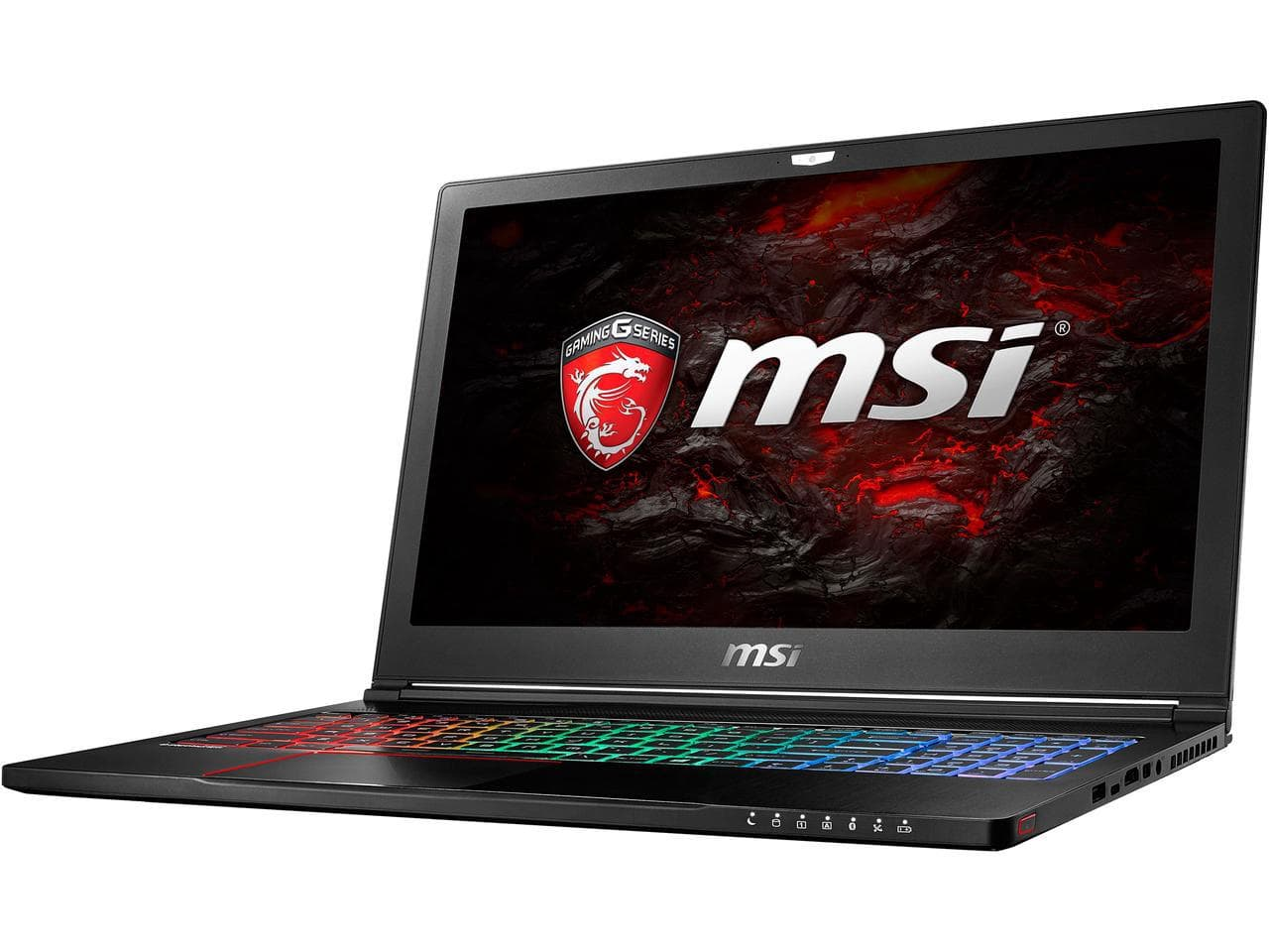 MSI GS63VR Stealth Pro-469 Laptop: 15.6'' FHD, i7-6700, GTX 1060 6GB, 16GB DDR4, 128GB SSD, 1TB HDD, Thunderbolt 3, Win10H + Dragon Fever GS Bundle @ 1149 AR + F/S $1149