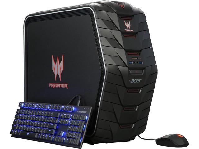 Acer Predator AG6-710 Desktop: i7-6700K, 16GB DDR4, 256GB SSD, 1TB HDD, GTX 1070, 730W PSU + Predator Suitcase @ $1100 with F/S