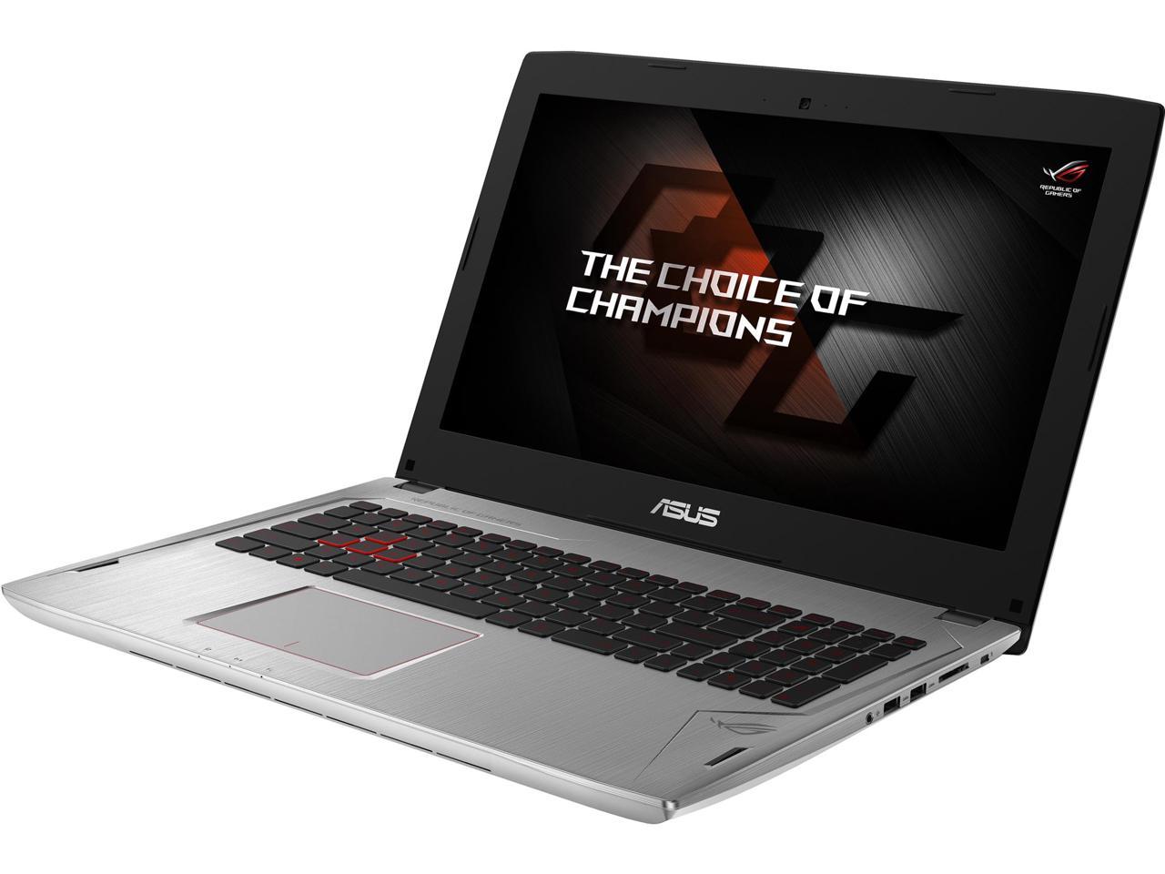 ASUS ROG GL502VM Gaming Laptop: 15.6'' FHD G-sync, i7-7700HQ, 16GB DDR4, 128GB SSD, 1TB HDD, GTX 1060, Thunderbolt 3 @ $1150 with F/S $1149