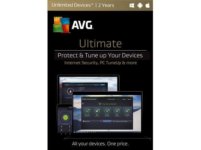 AVG 2017 Ultimate for 2 years for 1 device @ $10