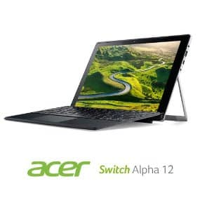 Acer Switch Alpha 12 2-in-1: 12'' 1440P IPS Touch, i5-6200U, 8GB Ram, 512GB SSD, Type-C, Stylus, WIn10H @ $599 + F/S