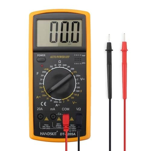 MECO DT9205A Auto-Ranging Digital Electronic Multimeter @ $9.87